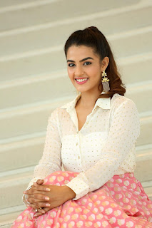 Kavya Thapar smiling Beauty in Transparent Whtie Shirt WOW Stunning HQ Pics