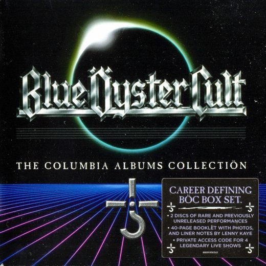BLUE OYSTER CULT - The Complete Columbia Albums Collection [16-CD Remastered + bonus] full