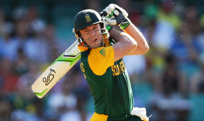AB de Villier hitting six