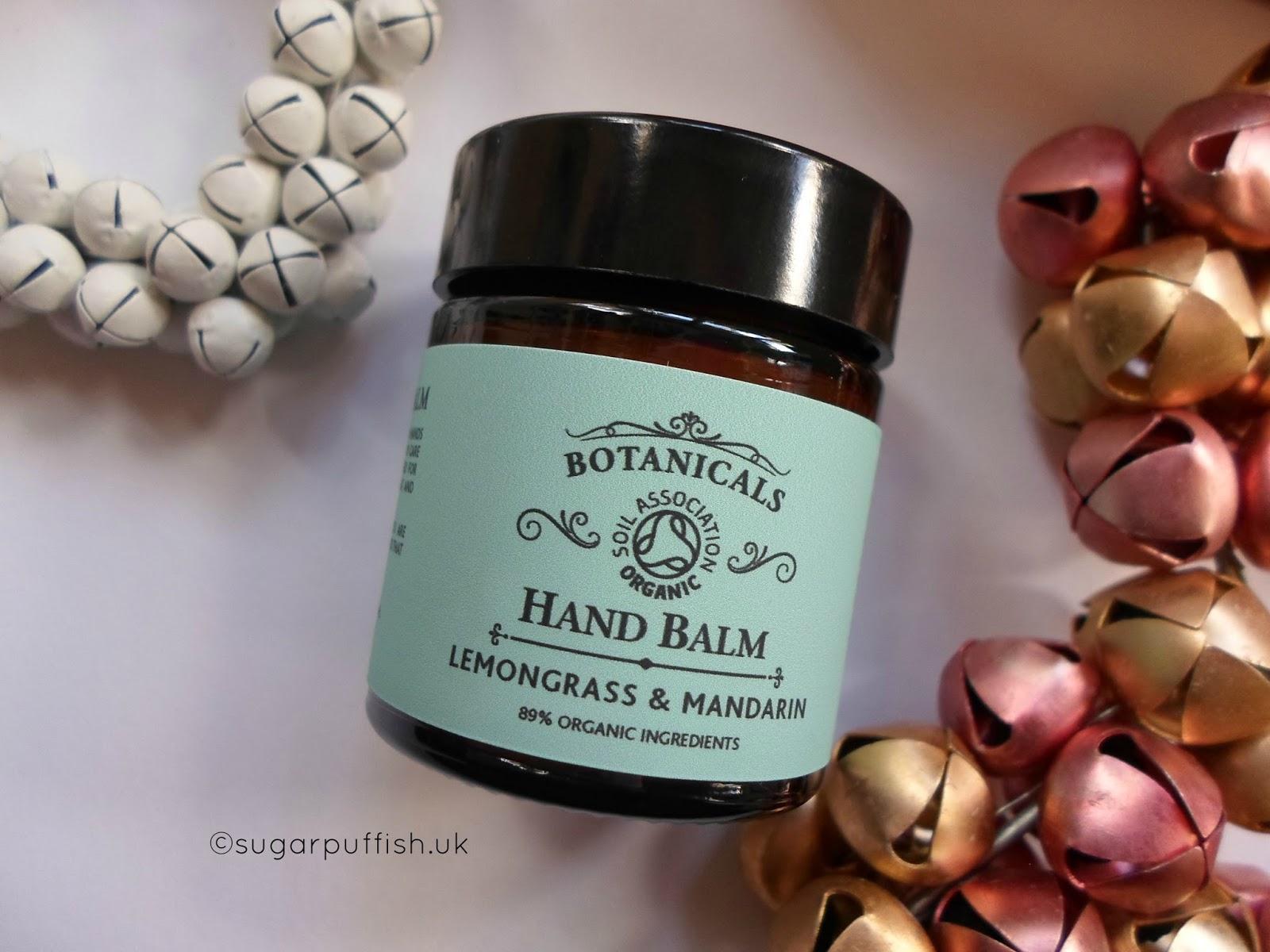 Botanicals Lemongrass & Mandarin Revitalising Hand Balm
