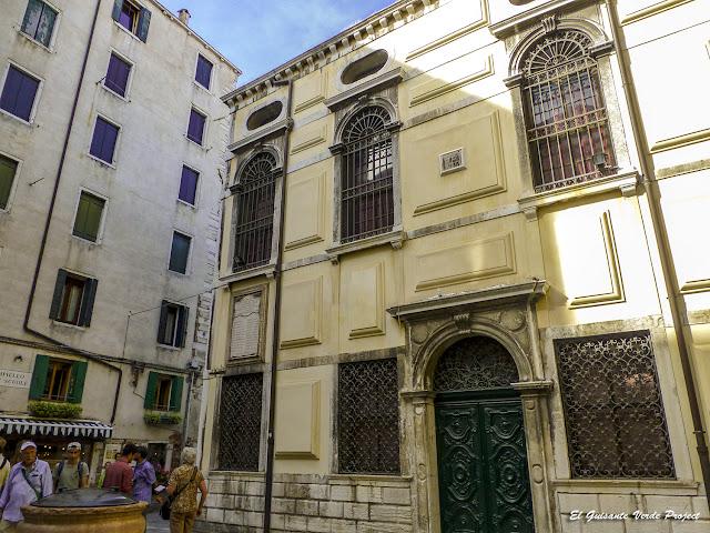 Sinagoga Levantina - Cannregio, Venecia por El Guisante Verde Project