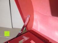 innen: Adventskalender als piratige rustikale Schatztruhe - 24 einzelnen Schatzboxen - Ideal für den Advent