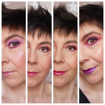 4 Pleasure Looks: Violetas, morados, malvas, cerezas,...y sorpresas.