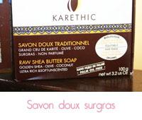 Karethic : Le savon surgras doux traditionnel
