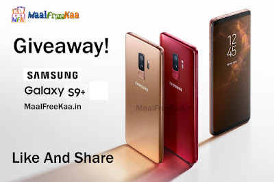 Samsung Galaxy S9+ Free