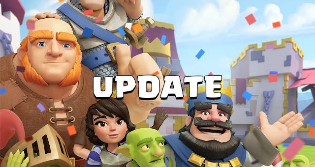 Bocoran Update Maintenance Clash Royale 18 Mei 2016, Update Maintenance Clash Royale 18 Mei 2016, Rincian Update Clash Royale 18 Mei 2016.