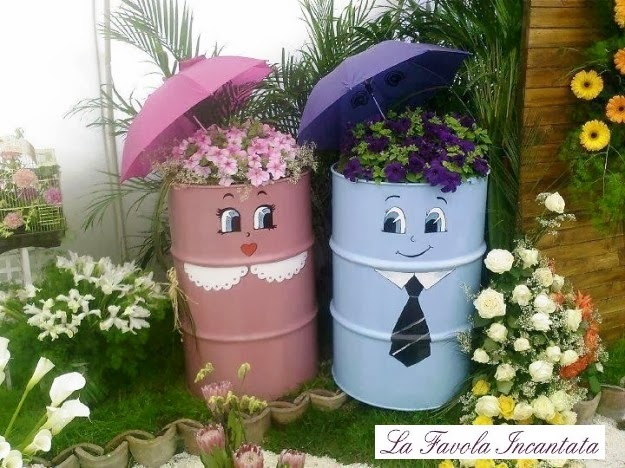La favola incantata le ultime dal blog - Idee per decorare il giardino ...