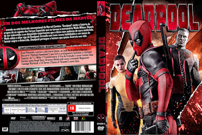 Filme Deadpool DVD Capa