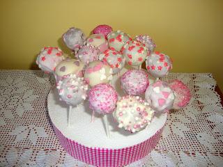 Cakepops Baby Shower de Anna
