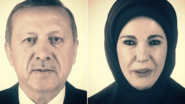 Muito decadente, senhora Emine Erdogan!