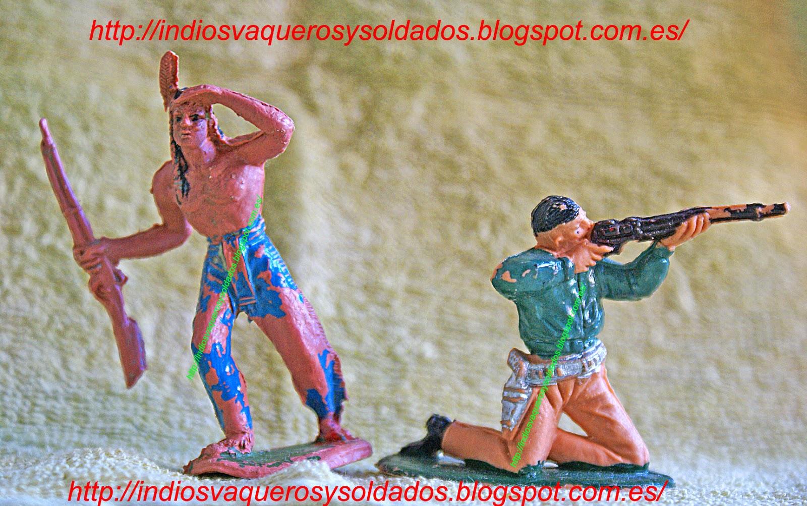 Indio y vaquero de Jecsan