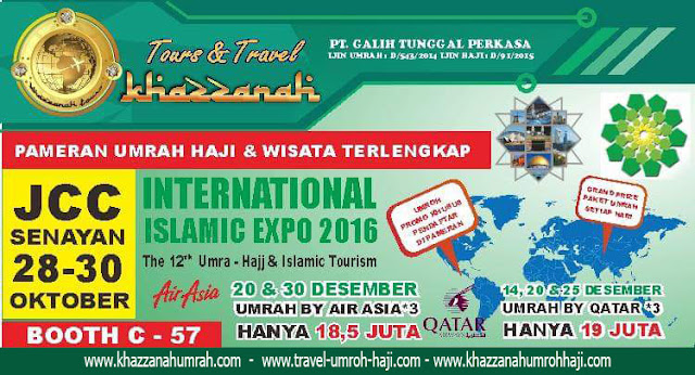 Pameran umroh haji terlengkap / Internasional Islamic Expo