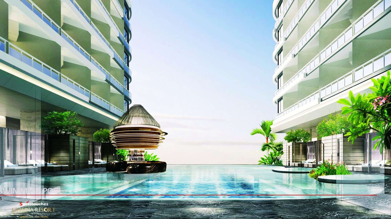 Tiện ích đồng bộ tiêu chuẩn của La Luna Resort