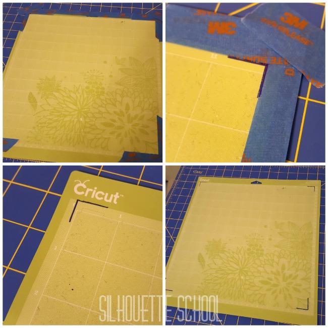 Silhouette Cameo, Cricut, Cricut mat, cutting mat