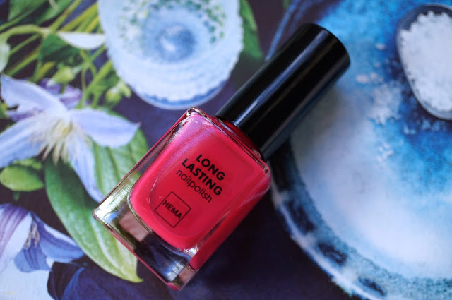 Hema Long Lasting Nailpolish '117 Cheerful Cherry'