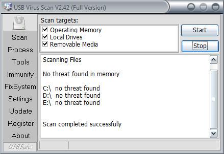 Full version USB Virus Scan Download!