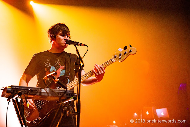 The Wombats at The Danforth Music Hall on October 27, 2018 Photo by John Ordean at One In Ten Words oneintenwords.com toronto indie alternative live music blog concert photography pictures photos