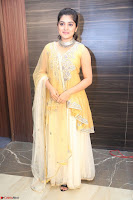 Nivetha Thamos in bright yellow dress at Ninnu Kori pre release function ~  Exclusive (60).JPG