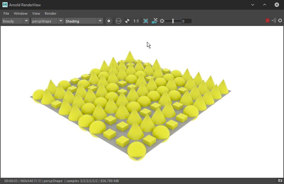 How to rendering MASH Color in Arnold render | CG RENDER DNA