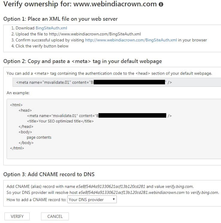 copy-paste code in your website