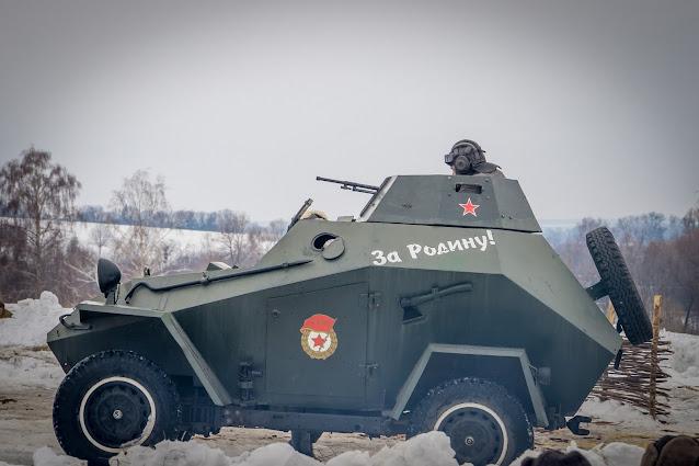 Реконструкция боя при Соколово 9.03.2018 - 23