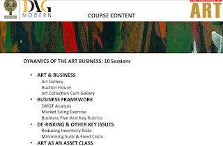 Business Of Art – A Short Term Innovative Course from DAG Modern and YWLP India