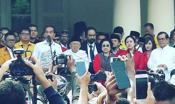Jokowi Selalu Gak Mau Kalah Sama Prabowo, Ikut-ikutan Pilih Jenderal Ini Jadi Ketua Timses