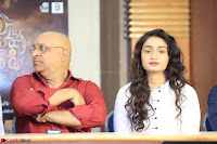 Kiran Chetwani with Janani Iyyer and others at Lakshmi Devi Samarpinchu Nede Chudandi Movie Interview 014.JPG