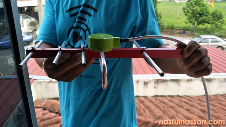 Set Aerial UHF Berkualiti Untuk MyFreeview