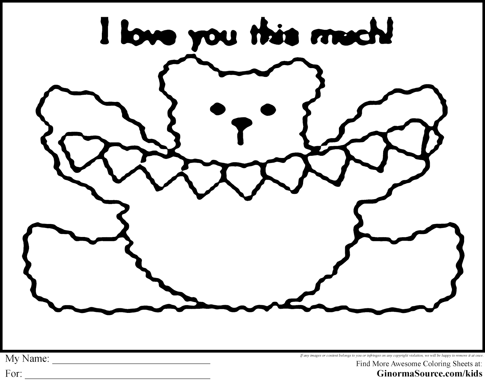 Coloring Pages: Cute and Easy Coloring Pages Free and