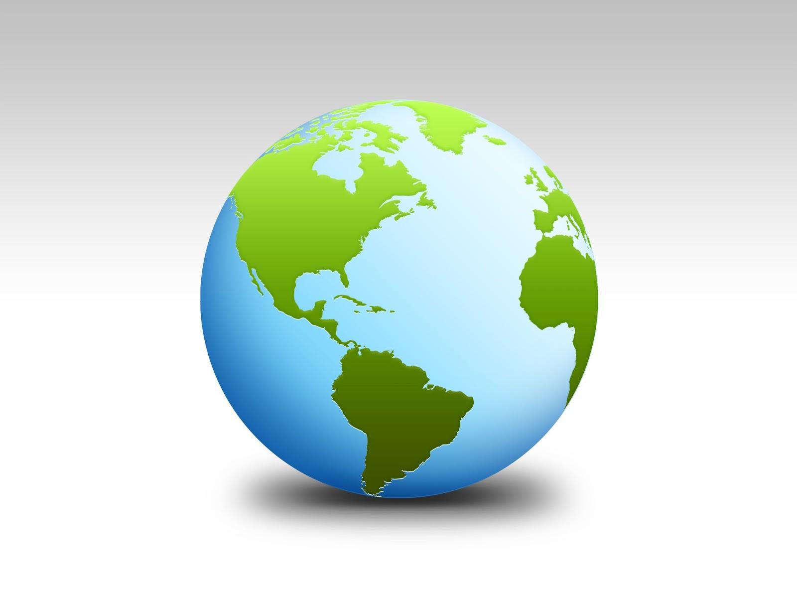 Recursos para el aula de lengua icono bola del mundo - Bola del mundo decoracion ...