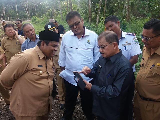LAN RI Teken MoU Pembangunan Gedung Diklat di Tarok City