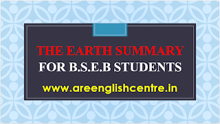The Earth Summary For B.S.E.B Students