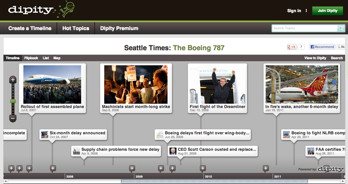 free technology for teachers six multimedia timeline creation tools