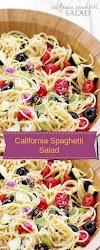 California Spaghetti Salad - Easy Kraft Recipes
