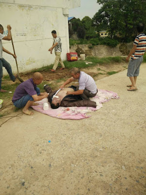 投诉:陕西泾阳县警方放纵包庇凶手逼死被打的农民王新峰