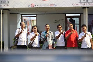 <b>Partai Garuda Jatuh Hati Pada Ahyar Mori Resmi Berikan Dukungan Untuk Kemenangan AMAN</b>