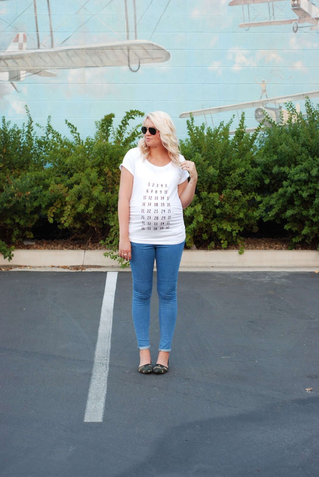 Maternity Countdown Tee, Maternity Jeans, Put A Bird On It Shop