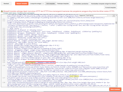 Cara Terbaru Memasang Google Fonts Di Blog