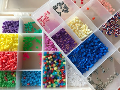 Hama bead organisation