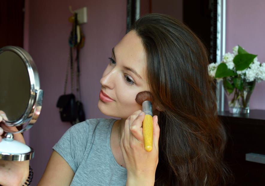 mój makijaż, jakiego podkładu i korektora używam