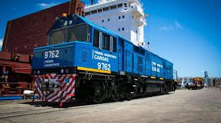 Se inauguraron 100 kilómetros de vías nuevas del ferrocarril Belgrano Cargas