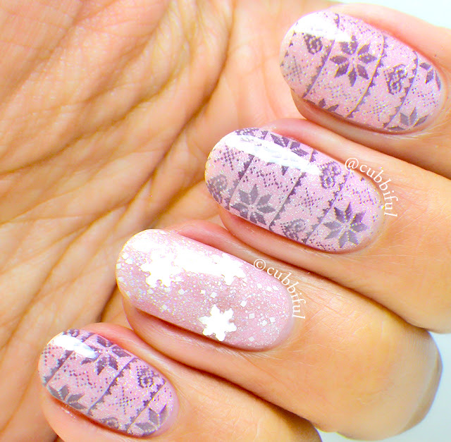 Sweater Stamping Nails