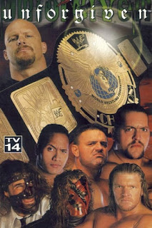 WWE / WWF - Unforgiven 1999 - Event poster