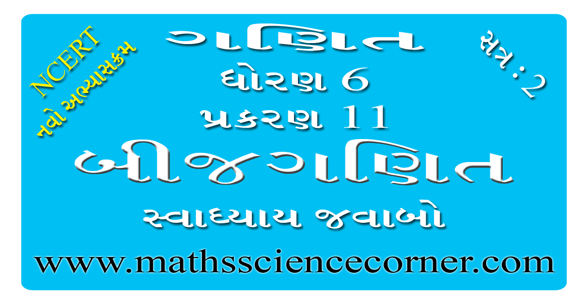 Maths Std 6 Swadhyay 11.4