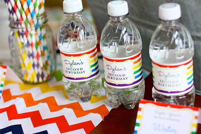 candy bar bouteille eau etiquette personnalisee