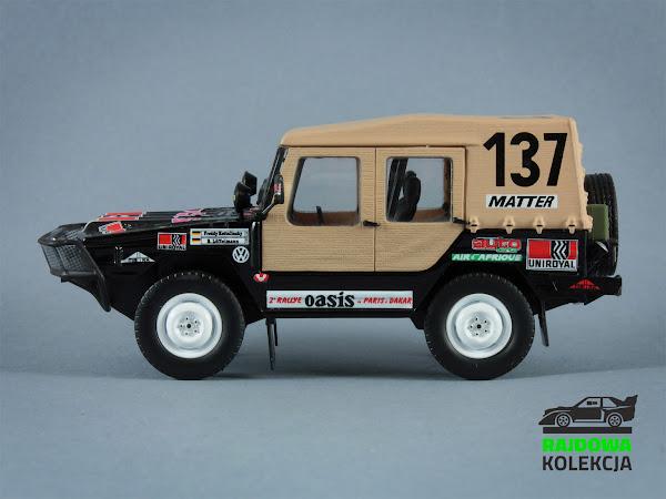 Norev VW Typ 183 Race Iltis Paris Dakar 1980