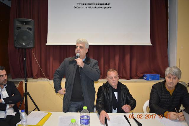 Δημήτρης Σιανίδης: Είναι ντροπή για ένα Δήμαρχο να ειρωνεύεται στο πρόσωπο μου τους κατοίκους της Γανόχωρας.
