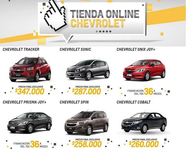 Chevrolet Argentina tienda online