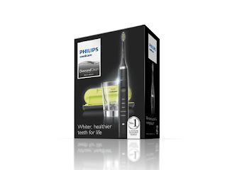 Whiter, Healthier teeth for life : Philips Sonicare DiamondClean Electric Toothbrush – Black by Amazon